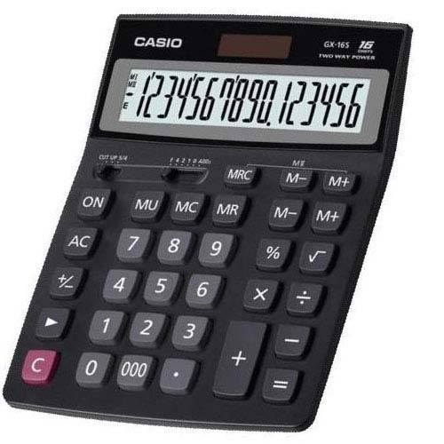 ماشین حساب مدل Casio GX16sCasio GX-16s Calculator
